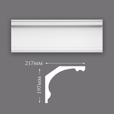 Picture of Large Victorian Plaster Cornice