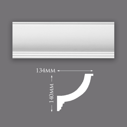 Picture of Plain Lighting Trough Plaster Cornice