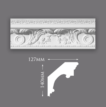 Picture of Medium William & Mary Plaster Cornice