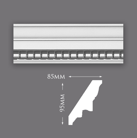 Picture of Small Dentil Plaster Cornice