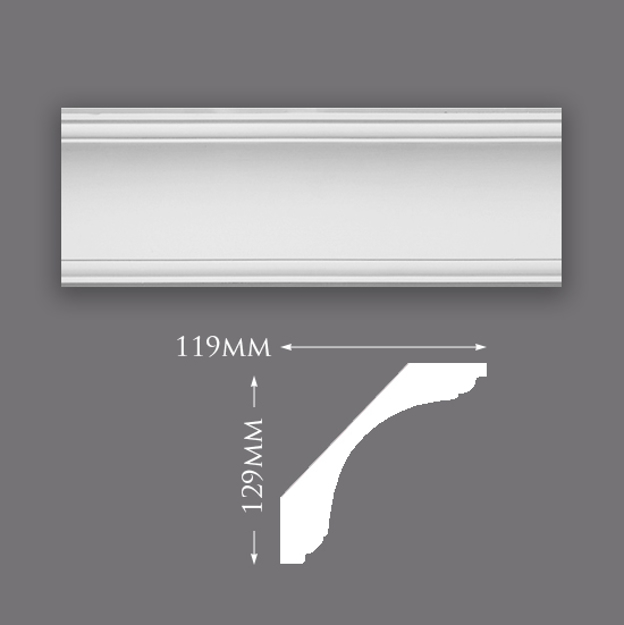 Picture of Small Cove Plaster Cornice
