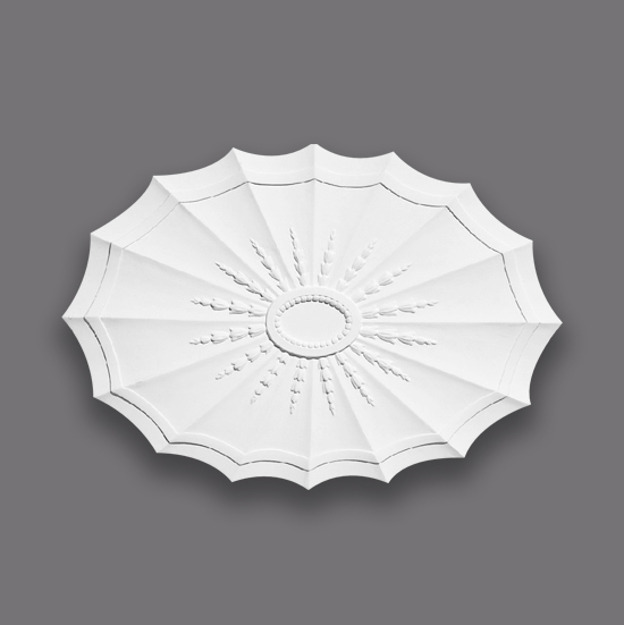 Picture of Oval Fan With Husks Centrepiece