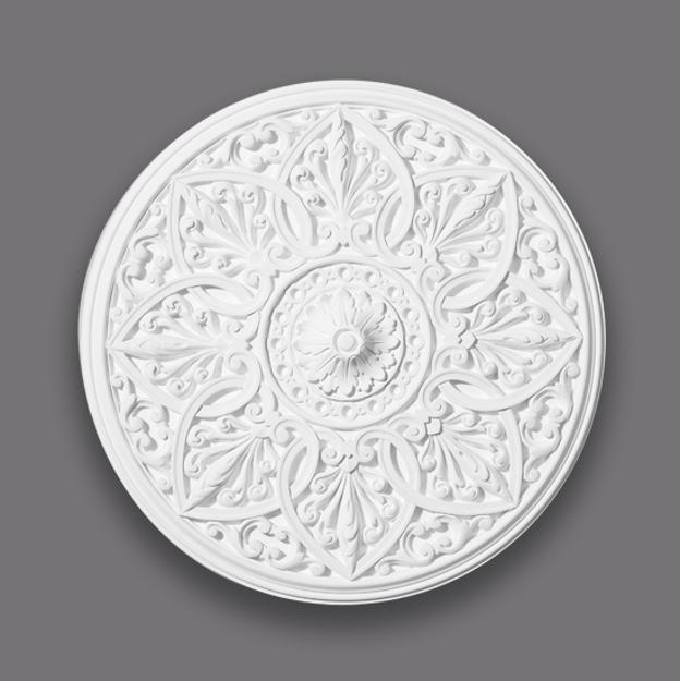 Small Victorian Fibrous Plaster Centrepiece