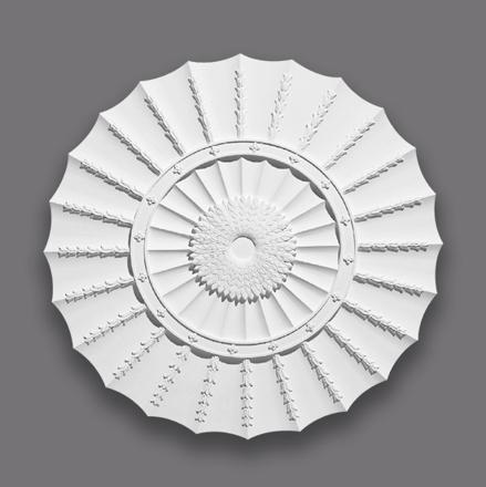 Large Circuit Fan Centrepiece