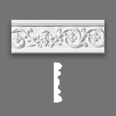 Acanthus Scroll Architrave