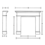 Hodkin and Jones Full Fire Surrounds Measurements Guide