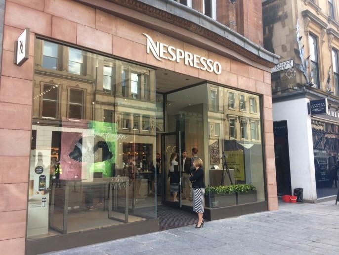 Nespresso, Glasgow