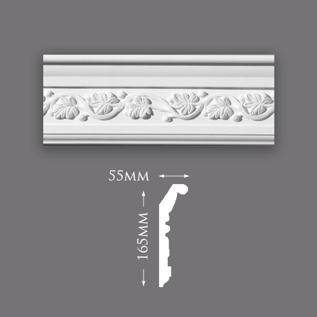 Picture of Sample - Forest Vine Plaster Cornice