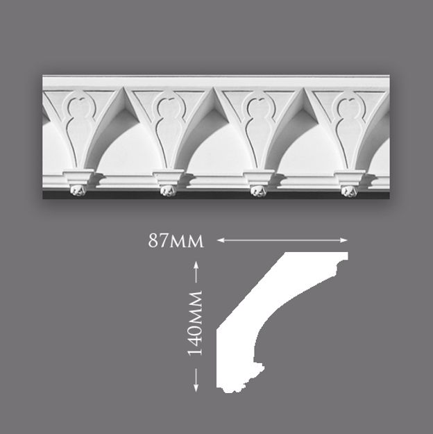 Picture of Sample - Gothic Plaster Cornice