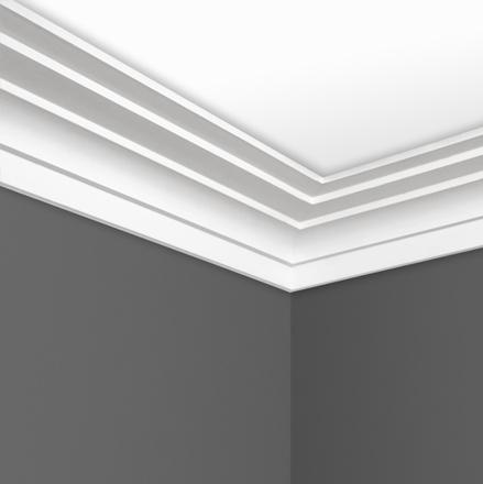 Step Plaster cornice C0163