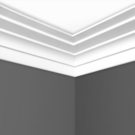 C0134 step plaster cornice