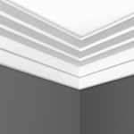 C0161 Step Plaster Cornice