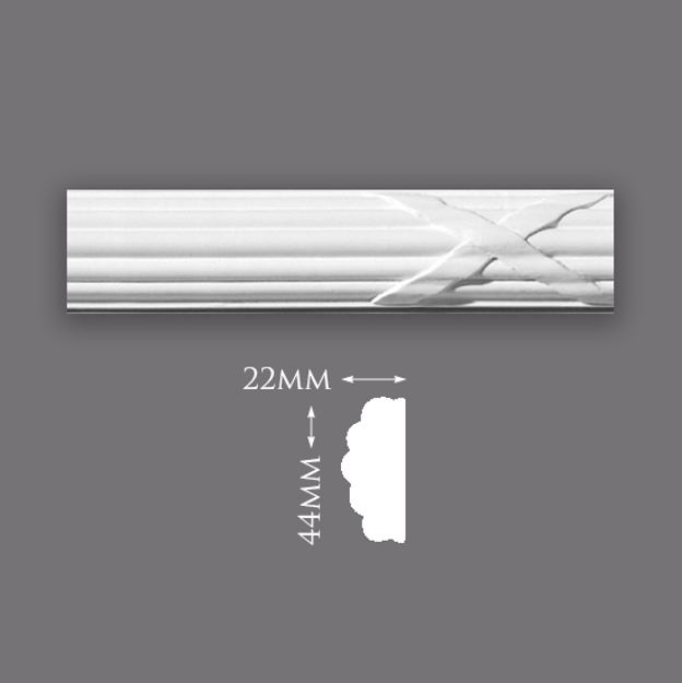 Picture of Sample - Reeded Ribbon Panel