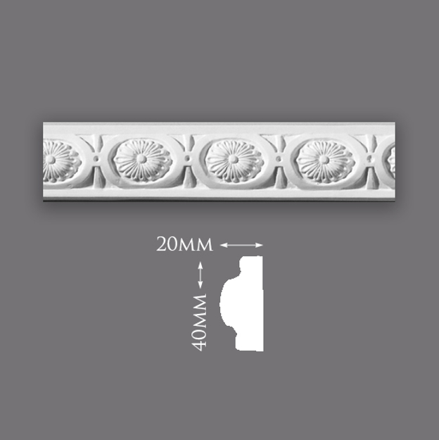 Picture of Sample - Floral Border Panel