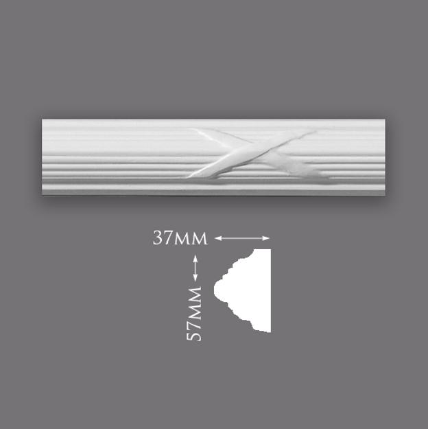 Picture of Sample - Medium Reed & Ribbon Panel