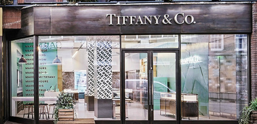 tiffany & co modern retail plaster moulding